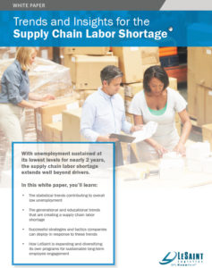 Supply Chain Labor Shortage PDF Download Thumbnail