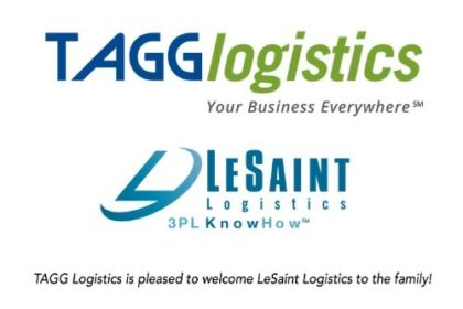 TAGG and LeSaint Logistics