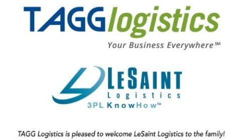 TAGG and LeSaint Logistics